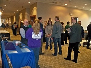 Members of the WV Orthopaedic Society, WV Association of Orthopaedic Executives and WV Physical Therapy Association enjoyed several breaks during the day which gave them a chance to visit with exhibitors.