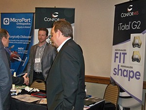 ConforMIS was another exhibitor new to this year's event!