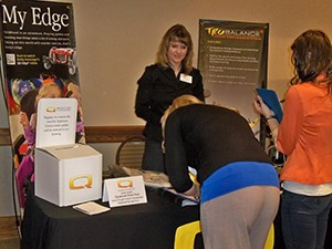 Conference attendees enjoyed the opportunities to visit with all of our exhibitors.