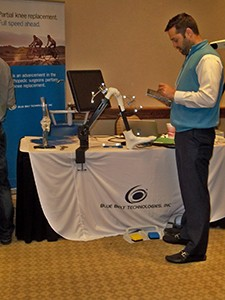 Blue Belt Technologies was new to our event this year!