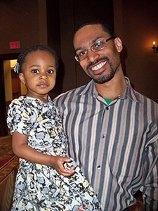 WVOS Resident Board Member Dr. Alvin Jones shares an evening with his most delightful daughter.