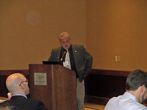 WVOS Past President and AAOS Councilor Greg Krivchenia shared breaking information on SGR, ICD-10 and other federal issues.