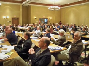 """In a first for the West Virginia Orthopaedic Society (WVOS), this was a combined meeting with the West Virginia Physical Therapy Association (WVPTA).  The morning sessions were combined, then the afternoon sessions were separated.  The general theme for the meeting was """"Upper Extremity Arthroplasty."""""""