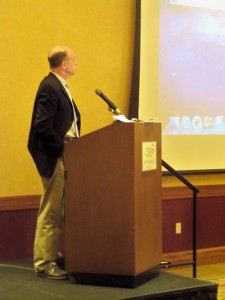 CME Conference Chair Jack Steel, MD, served as one of the moderators for the morning session.