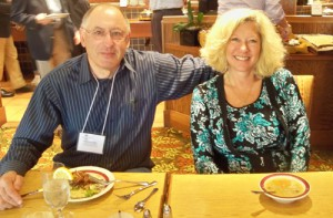 Dr. Alexander Rosenstein, one of our newest members, enjoys time between class with his wife Vicky.