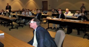 One of the residents created a presentation unlike any other...audience members needed 3-D glasses to get the full impact of the slides!