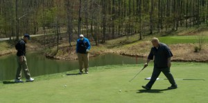 Folks had a great day to renew old friendships, make new ones and chase the elusive white ball around the course.