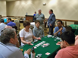 Friday evening, the Orthopaedic Research and Education Foundation was the beneficiary of a conference game night.  WVAOE and WVOS members, as well as exhibitors, raised $1200 for the Foundation.