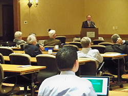 Dr. Teuscher is the first AAOS President to visit West Virginia.