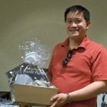 Felix Cheung won the golf basket fron Stonewall Resort as our second place winner.