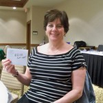 Laura Ede  took third place honors, winning a Stonewall Resort shopping trip.