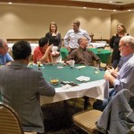 Members and guests gathered Friday night to enjoy a Texas Hold em Tournament.  Our players raised $500 for the Orthopaedic Research and Education Foundation !