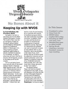 WVOSNewsletterSpring2016_Cover
